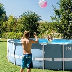 Piscine tubulaire Intex AGP