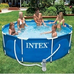 Piscine tubulaire Intex Piscine Ovale