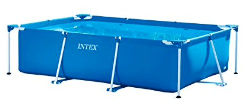 Intex Piscinette tubulaire rectangulaire