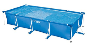 Piscinette tubulaire Metal Frame Intex moyenne rectangulaire